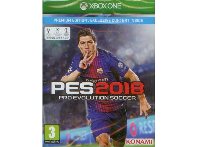 Xbox One Pro Evolution Soccer 2018 - Premium Edition
