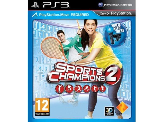 PS3 Sports Champions 2 (Move)