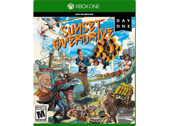 Xbox One Sunset Overdrive Day One
