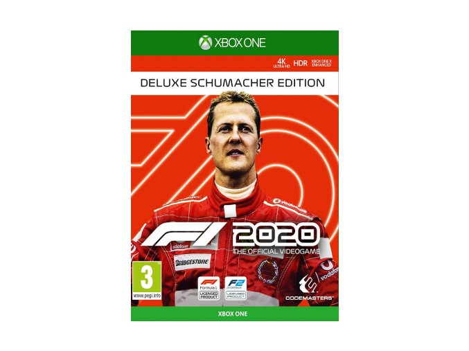 Xbox One F1 2020 Deluxe Schumacher Edition