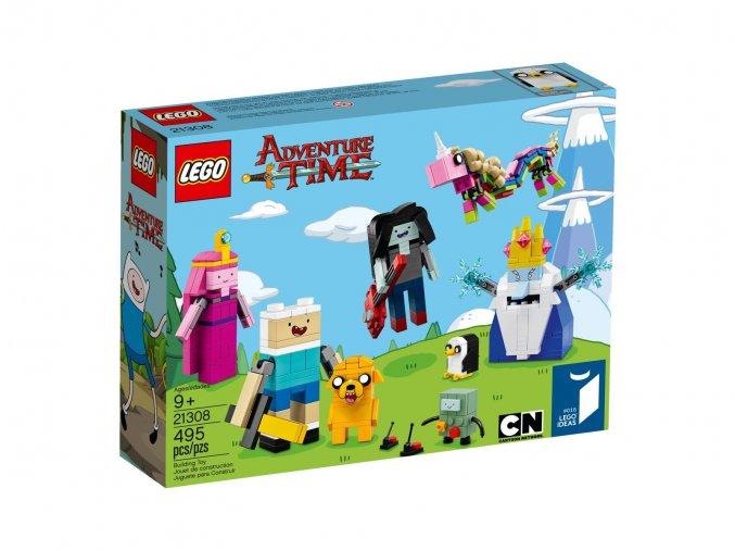 Stavebnice LEGO Ideas Adventure Time 21308