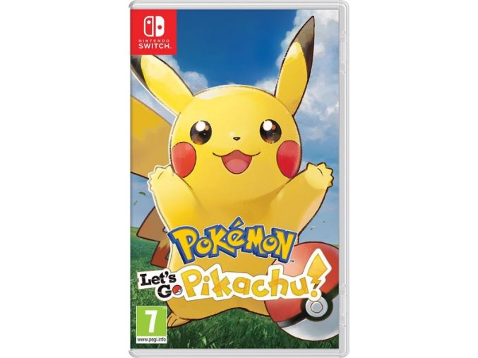 Nintendo Switch Pokémon Lets Go Pikachu