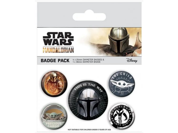 Sada placek Star Wars: Mandalorian - This is the Way