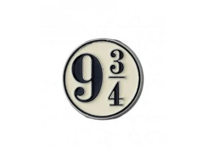 Odznak Harry Potter - Nástupiště 9 a 3/4