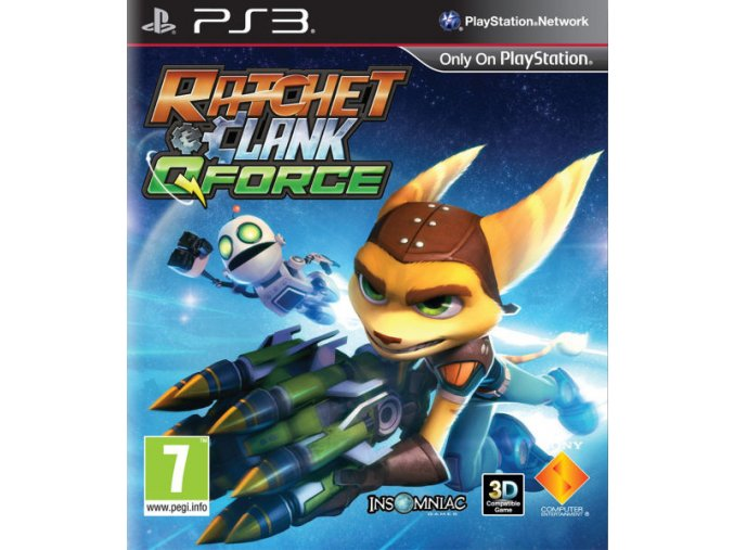 PS3 Ratchet and Clank: Q-Force