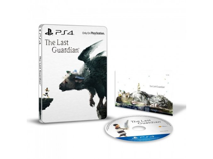 PS4 The Last Guardian SteelBook Edition