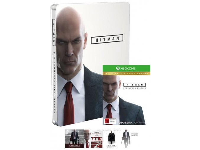 Xbox One Hitman The Complete First Season SteelBook Edition