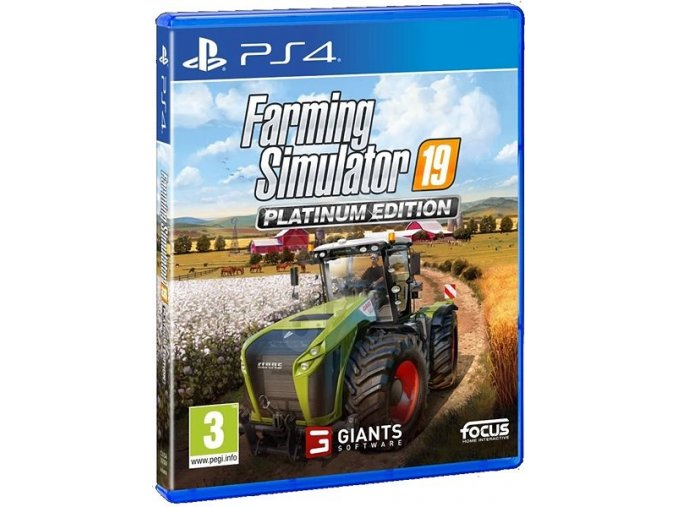 PS4 Farming Simulator 19 - Platinum Edition