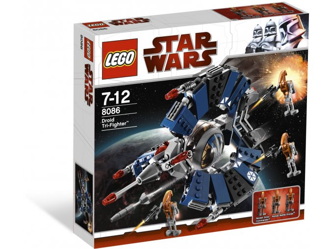 Lego Star Wars 8086 Trojitá stíhačka droidů