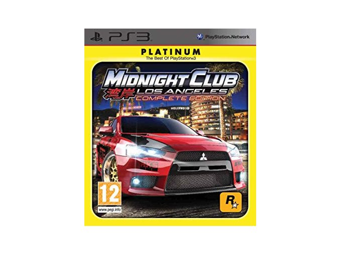 PS3 Midnight Club: Los Angeles