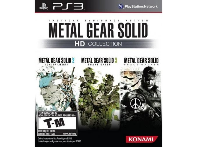 PS3 Metal Gear Solid: HD Collection