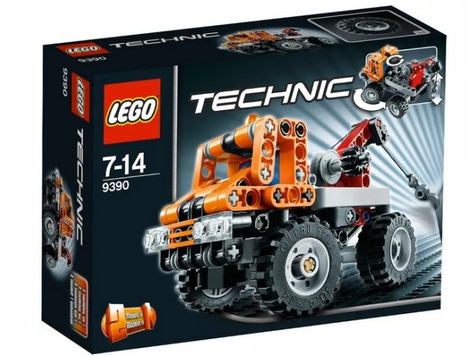 Lego 9390 Technic Mini odtahový vůz