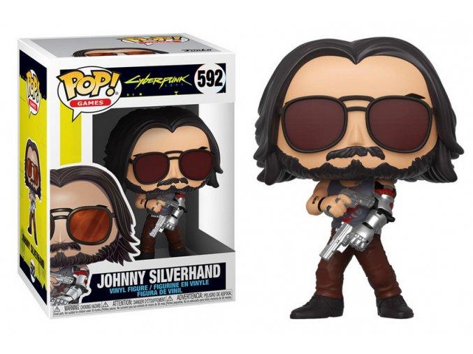 Funko POP Games Cyberpunk 2077 Johnny Silverhand w/Gun