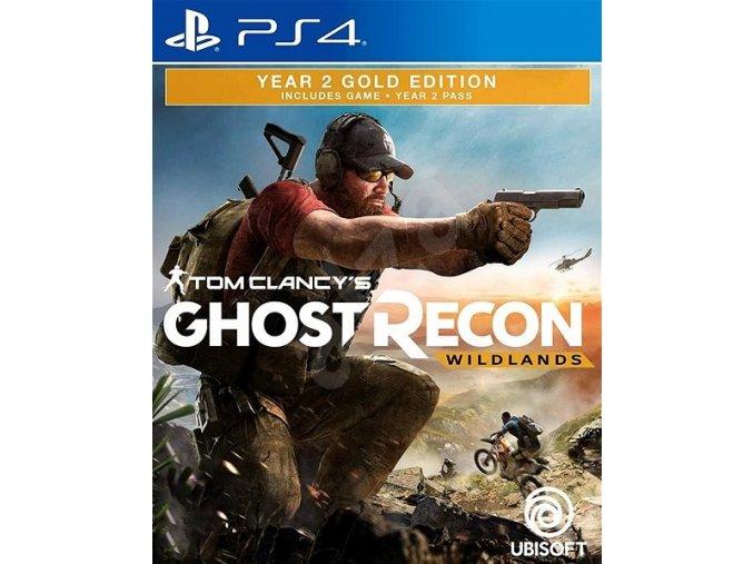 PS4 Tom Clancy's Ghost Recon: Wildlands - Year 2 Gold Edition CZ