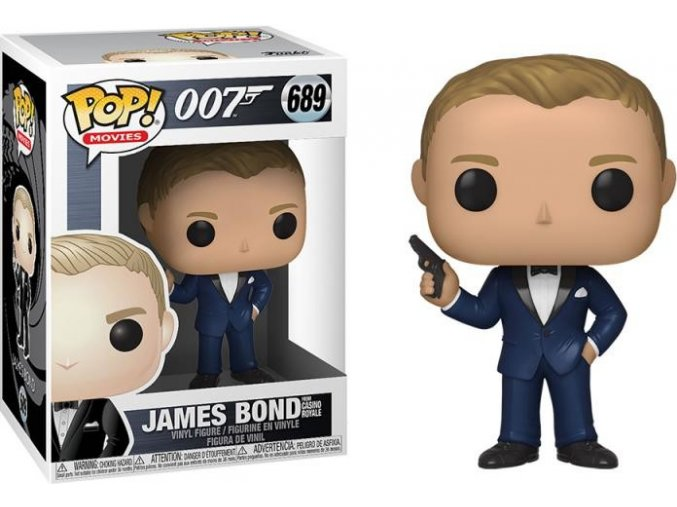 Funko POP Movies 007 James Bond - Daniel Craig From Casino Royale
