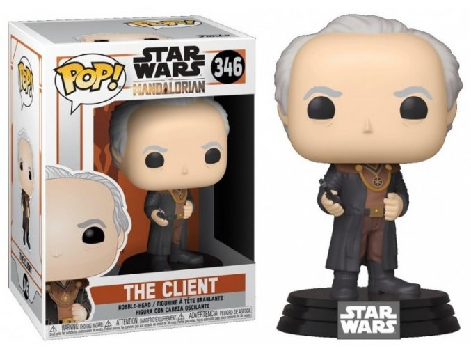 Funko POP Star Wars The Mandalorian - The Client