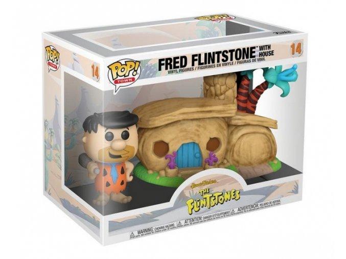Funko POP Town Flintstones - Flintstone's Home