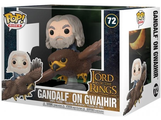 Funko POP Rides LOTR - Gandalf on Gwaihir