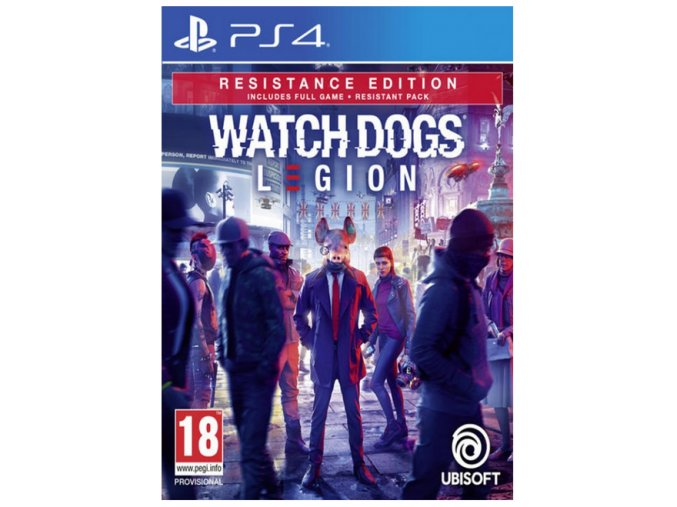 PS4 Watch Dogs: Legion Resistance Edition