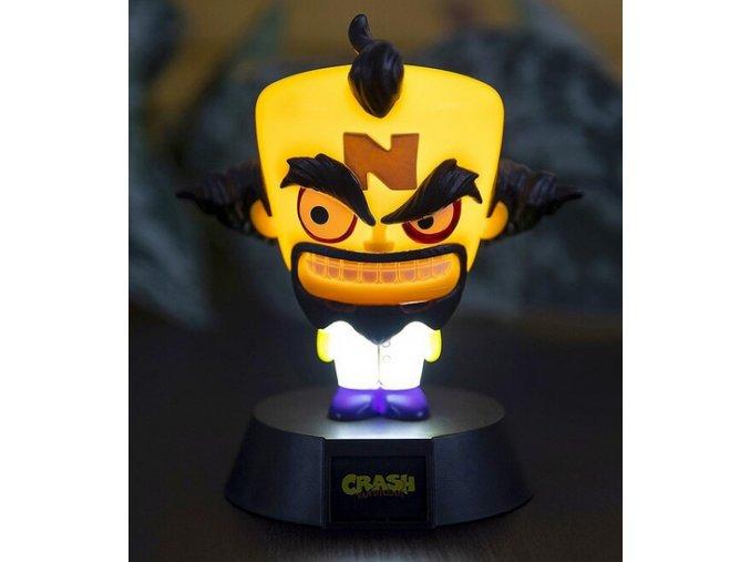 Doctor Neo Cortex Svíticí figurka