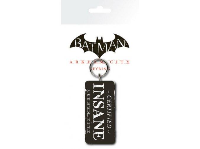 Batman Arkham City Certified Insane - Klíčenka