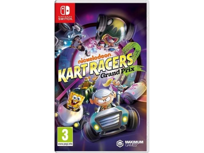 Nintendo Switch Nickelodeon Kart Racers 2: Grand Prix