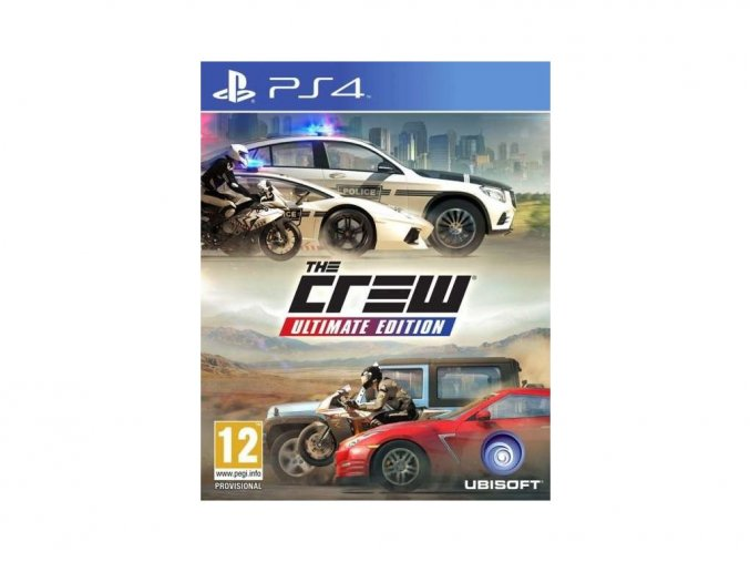 PS4 The Crew (Ultimate Edition)