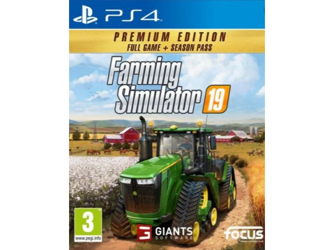 PS4 Farming Simulator 19 - Premium Edition