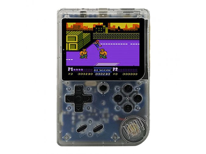 coolbaby rs6a retro handheld game console transparent white 1571976084283