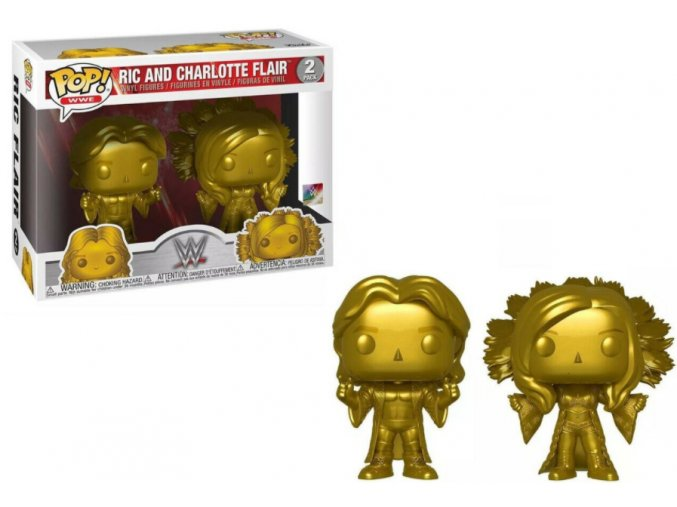 Funko POP WWE RIC a Charlotte 2-PACK Exclusive