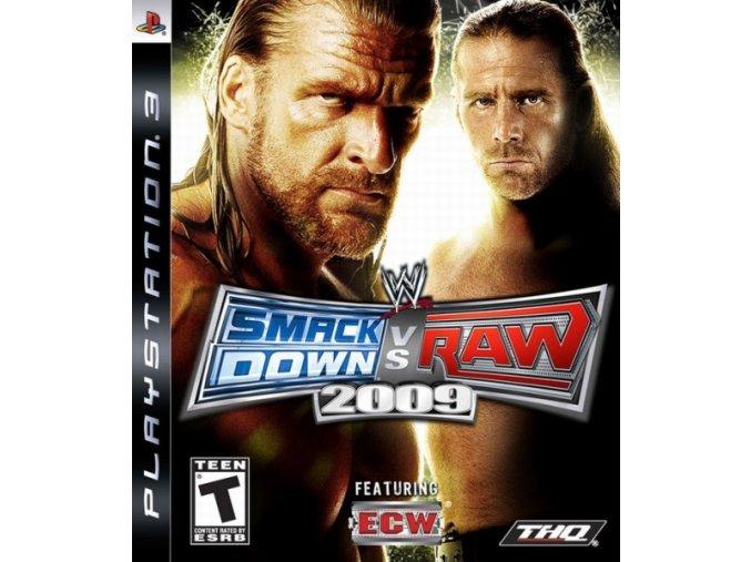 PS3 WWE SmackDown vs. Raw 2009