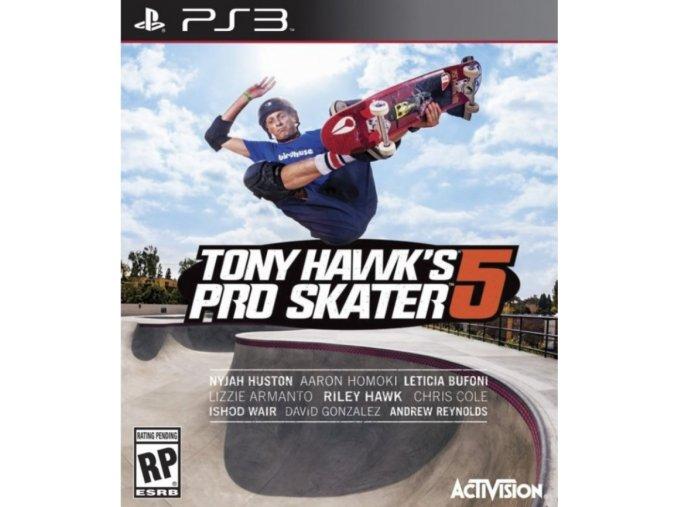 PS3 Tony Hawk Pro Skater 5