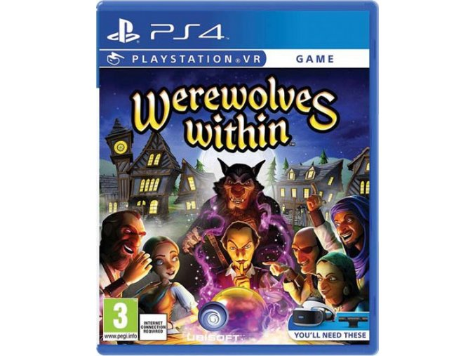 PS4 Werewolves Within VR
