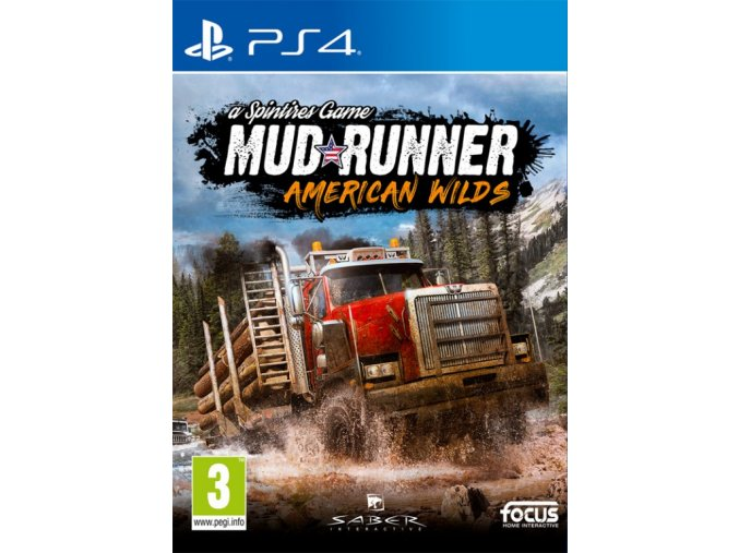 PS4 Spintires: MudRunner - American Wilds