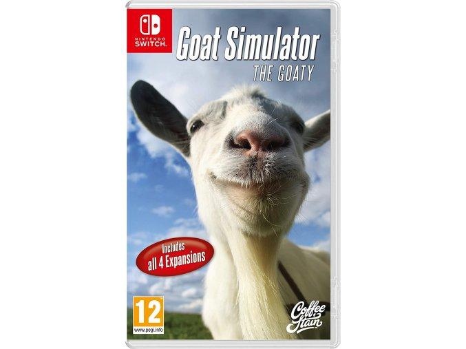 Nintendo Switch Goat Simulator The GOATY