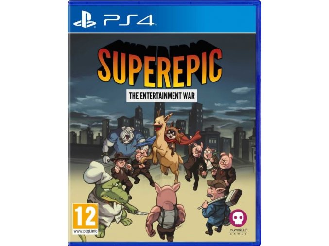 PS4 SuperEpic: The Entertainment War