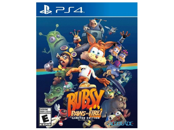 PS4 Bubsy: Paws On Fire! Limited Edition