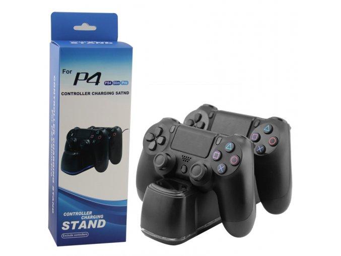 PS4 duální nabíjecí dokovací stanice