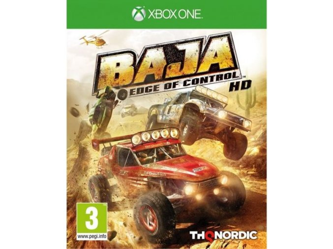 Xbox One Baja Edge of Control HD