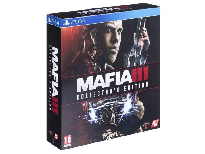PS4 Mafia 3 Collector's Edition