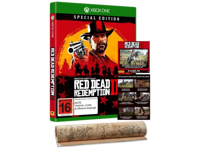 Xbox One Red Dead Redemption 2 Special Edition