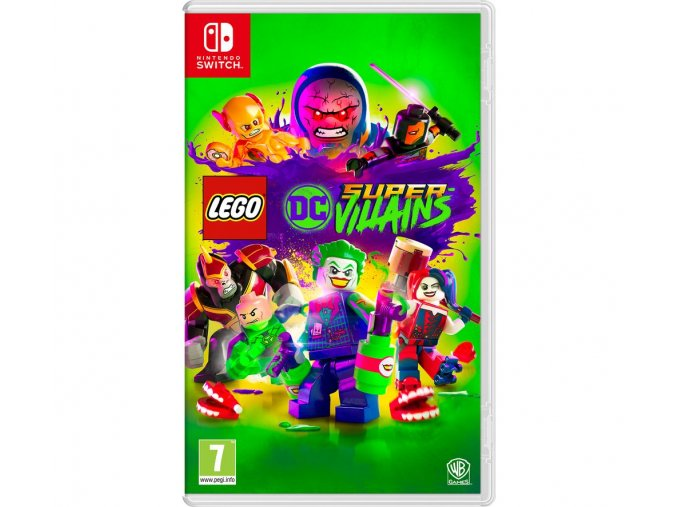 Nintendo Switch Lego DC Super Villains