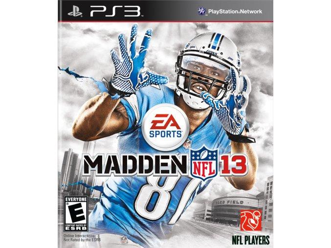 PS3 Madden NFL 13
