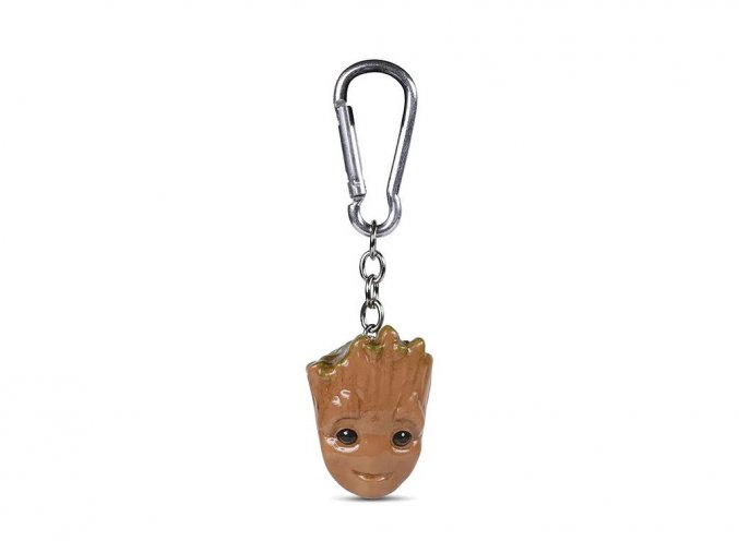 Klíčenka Guardians of the Galaxy - Baby Groot 3D