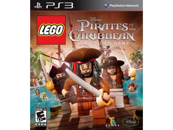 PS3 LEGO Pirates of the Caribbean: The Video Game
