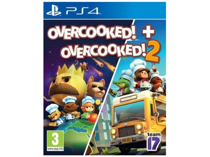 PS4 Overcooked! + Overcooked! 2 Double Pack