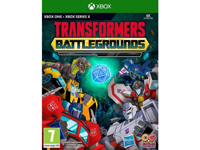 Xbox One Transformers Battlegrounds