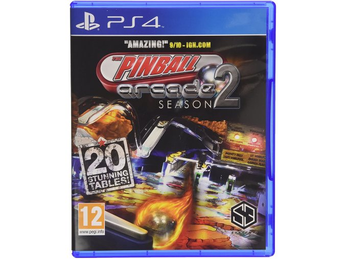 PS4 Pinball Arcade Season 2