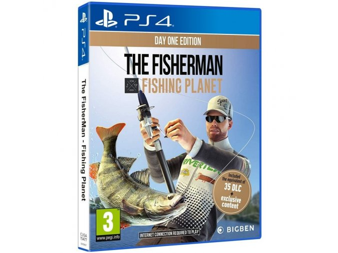 PS4 Fisherman Fishing Planet - Day One Edition