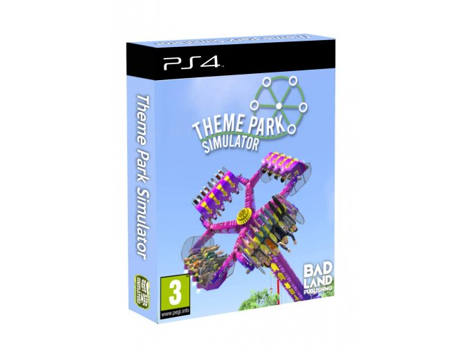 PS4 Theme Park Simulator - Collectors Edition